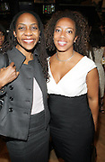 l to r: Onika Abraham and Guest at The 2009 NV Awards: A Salute to Urban Professionals sponsored by Hennessey held at The New York Stock Exchange on February 27, 2009 in New York City. ....