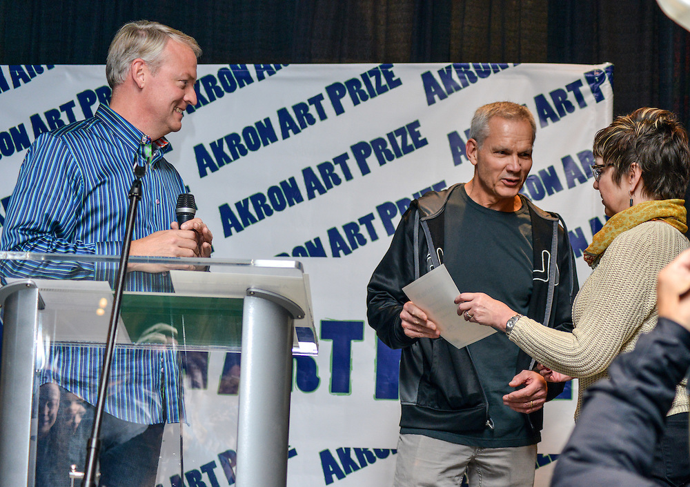 Akron Art Prize 2014 Grand Finale at the Akron Art Museum.
