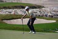 Cormac Sharvin (NIR) on the 9th during Round 3 of the Oman Open 2020 at the Al Mouj Golf Club, Muscat, Oman . 29/02/2020<br /> Picture: Golffile | Thos Caffrey<br /> <br /> <br /> All photo usage must carry mandatory copyright credit (© Golffile | Thos Caffrey)
