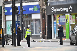© Licensed to London News Pictures. 03/02/2020. London, UK. Commissioner of the Metropolitan Police CRESSIDA DICK at the scene of yesterday's terrorist attack, on Streatham High Road in south London. A man, named as Sudesh Amman, was shot dead by police yesterday after a number of people were stabbed on Streatham High Road. Metropolitan Police declared the incident terrorist-related. Photo credit: Ben Cawthra/LNP