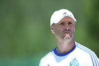 Fotball<br /> 01.07.2015<br /> Foto: Gepa/Digitalsport<br /> NORWAY ONLY<br /> <br /> Dynamo Kiev<br /> FC Dynamo Kyiv, training camp. Image shows head coach Serhiy Rebrov (Kiev).