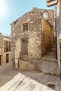 GANGI, SICILY, one Euro House from outside
