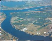 """Aerials of Rivergate area. August 25, 1967"""