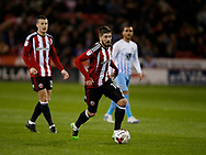 Kieron Freeman of Sheffield Utd during the English League One match at Bramall Lane Stadium, Sheffield. Picture date: April 5th 2017. Pic credit should read: Simon Bellis/Sportimage