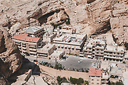 The Greek Orthodox monastery of St. Thecla (Mar Takla) is located in the small town of Maalula (Maaloula), one of the few Aramaic-speaking communities in the world. In addition to the grave of Saint Thecla, the convent is home to a small orphanage for girls.<br /> <br /> (June 9, 2010)