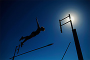Freehold Township's John Costantino competes in the pole vault during the Monmouth County Track and Field Championships held at Neptune High School in Neptune Township on May 5, 2010.