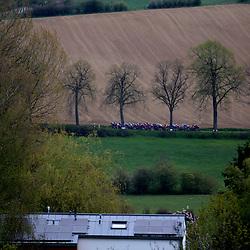02-05-2021: Wielrennen: Elsy Jakobs : Luxembourg: <br />Peloton in landscape