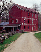 Historic Bowen's Mill, a grist and cider mill dating from 1864, Yankee Springs Township, Barry County, Michigan.