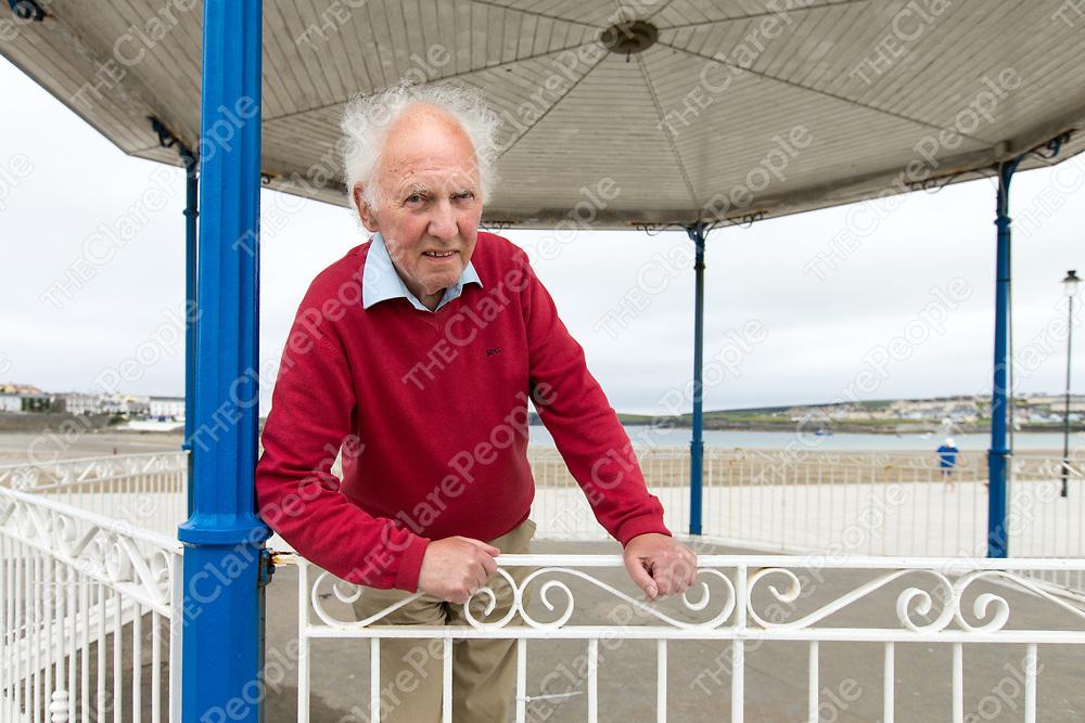 John Williams at Kilkee beach