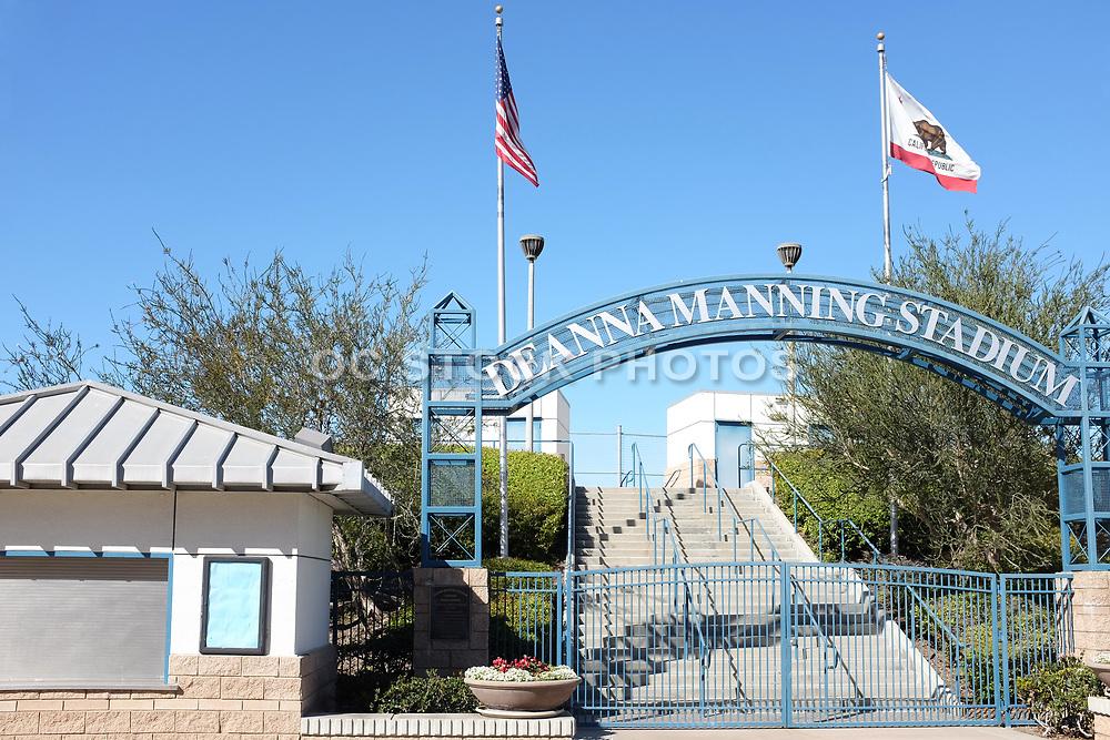 Deanna Manning Stadium Entrance