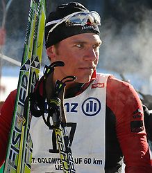 23.01.2011, Loipe Obertilliach, Obertilliach, AUT, 37. Dolomitenlauf, im Bild Michael Eberharter (AUT)// EXPA Pictures © 2011, PhotoCredit: EXPA/ M. Gruber