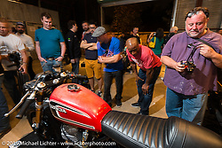 Saturday at the Handbuilt Motorcycle Show. Austin, TX. April 11, 2015.  Photography ©2015 Michael Lichter.