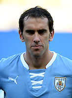 Fifa Brazil 2013 Confederation Cup / Semifinal Match /<br /> Brazil vs Uruguay 2-1  ( Mineirao Stadium - Belo Horizonte , Brazil )<br /> Diego GODIN of Uruguay , during the match between Brazil and Uruguay