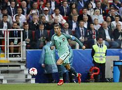 June 21, 2017 - Cristiano Ronaldo de Portugal durante partida entre Rússia x Portugal válida pela segunda rodada da Copa das Confederações 2017, nesta quarta-feira (21), realizada no Estádio do Spartak (Otkrytie Arena), em Moscou, na Rússia. (Credit Image: © Rodolfo Buhrer/Fotoarena via ZUMA Press)