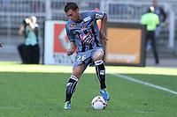 FOOTBALL - FRENCH CHAMPIONSHIP 2012/2013 - L1 - OLYMPIQUE LYONNAIS v AC AJACCIO - 16/09/2012 - PHOTO EDDY LEMAISTRE / DPPI - Samuel BOUHOURS (ACA)