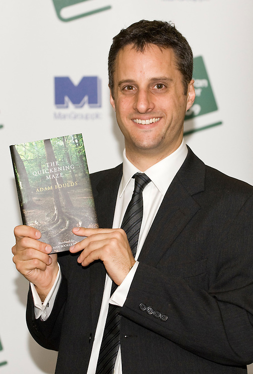 .LONDON, ENGLAND - OCTOBER 05: Man Booker Prize shortlisted author Adam Foulds poses at Hatchards in Piccadilly, ahead of the Man Booker Prize 2009 on October 5, 2009 in London, England...***Agreed Fee's Apply To All Image Use***.Marco Secchi /Xianpix. tel +44 (0) 771 7298571. e-mail ms@msecchi.com .www.marcosecchi.com