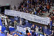 DESCRIZIONE : Eurolega Euroleague 2015/16 Group D Dinamo Banco di Sardegna Sassari - Darussafaka Dogus Istanbul<br /> GIOCATORE : Commando Ultra' Dinamo<br /> CATEGORIA : Striscione Protesta Before Pregame Ultras Tifosi Spettatori Pubblico<br /> SQUADRA : Dinamo Banco di Sardegna Sassari<br /> EVENTO : Eurolega Euroleague 2015/2016<br /> GARA : Dinamo Banco di Sardegna Sassari - Darussafaka Dogus Istanbul<br /> DATA : 19/11/2015<br /> SPORT : Pallacanestro <br /> AUTORE : Agenzia Ciamillo-Castoria/L.Canu