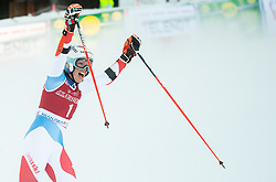 Michelle Gisin (SUI) reacts during 2nd Run of Ladies' Giant Slalom at 57th Golden Fox event at Audi FIS Ski World Cup 2020/21, on January 16, 2021 in Podkoren, Kranjska Gora, Slovenia. Photo by Vid Ponikvar / Sportida