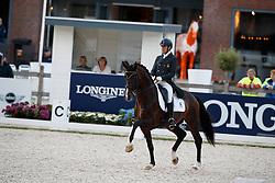Castilla Ruiz Claudio, ESP, Forte Mg<br /> Longines FEI/WBFSH World Breeding Dressage Championships for Young Horses - Ermelo 2017<br /> © Hippo Foto - Dirk Caremans<br /> 03/08/2017
