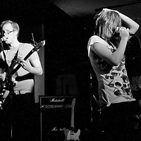 Soft Toy Emergency perform live at In The City, One Central, Manchester, UK, 2008-10-06