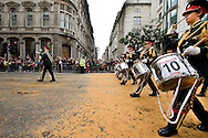 Romford Drum and Trumpet Corps. The Lord Mayor's Show, London, UK (12 November 2011)