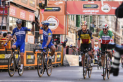 March 23, 2019 - Sanremo, Sanremo, Italia - Foto LaPresse/Marco Alpozzi.23/03/2018 Sanremo (Italia) .Sport Ciclismo.Milano-Sanremo 2019 - edizione 110 - da Milano a Sanremo (291 km) .Nella foto:¬† Deceuninck - Quick-Step team ..Photo LaPresse/Marco Alpozzi.March 23, 2018 Sanremo (Italy).Sport Cycling.Tirreno-Adriatico 2019 - edition 110 - Milano to Sanremo (182 miles) .In the pic:¬†Deceuninck - Quick-Step team (Credit Image: © Marco Alpozzi/Lapresse via ZUMA Press)