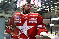 GET-ligaen Ice Hockey, 27. october 2016 ,  Stavanger Oilers v Stjernen<br />Sander Rene Berg fra Stjernen etter kampen mot Stavanger Oilers<br />Foto: Andrew Halseid Budd , Digitalsport