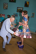 TIM MARLOW; GRAYSON PERRY,, Royal Academy Summer Exhibition party. Burlington House. Piccadilly. London. 6 June 2018