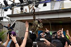 September 1, 2017 - Berlin, Berlin, Deutschland - Wyclef Jean auf der Modemesse Bread & Butter 2017 by Zalando in der Arena Berlin. Berlin, 01.09.2017 (Credit Image: © Future-Image via ZUMA Press)