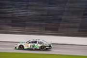 Kyle Busch (18) leads the Sprint Cup NRA 500 at Texas Motor Speedway in Fort Worth on Saturday, April 13, 2013. (Cooper Neill/The Dallas Morning News)