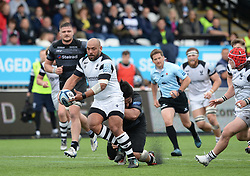 John Afoa of Bristol Bears tries to shake off Logovi'i Mulipola of Newcastle Falcons - Mandatory by-line: Richard Lee/JMP - 18/05/2019 - RUGBY - Kingston Park Stadium - Newcastle upon Tyne, England - Newcastle Falcons v Bristol Bears - Gallagher Premiership Rugby