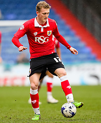 Bristol City's George Saville in action - Photo mandatory by-line: Matt McNulty/JMP - Mobile: 07966 386802 - 03/04/2015 - SPORT - Football - Oldham - Boundary Park - Oldham Athletic v Bristol City - Sky Bet League One