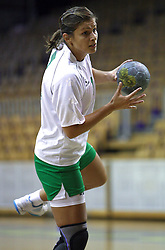 Biljana Culibrk of Olimpija at  handball game between women team RK Olimpija vs ZRK Brezice at 1st round of National Championship, on September 13, 2008, in Arena Tivoli, Ljubljana, Slovenija. Olimpija won 41:17. (Photo by Vid Ponikvar / Sportal Images)