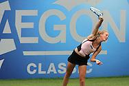 Aegon Classic international women's tennis at the Priory Club, Birmingham ,England on Monday 8th June 2009. Urszula Radwanska of Poland in action.