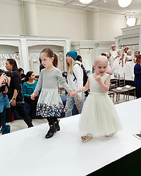 """Ioni James Conran releases a photo on Instagram with the following caption: """"Loved meeting all the pretty girls of @runwayheroes with my mama and helping them to have an amazing first ever runway show! Great job girls!! \ud83d\ude18"""". Photo Credit: Instagram *** No USA Distribution *** For Editorial Use Only *** Not to be Published in Books or Photo Books ***  Please note: Fees charged by the agency are for the agency's services only, and do not, nor are they intended to, convey to the user any ownership of Copyright or License in the material. The agency does not claim any ownership including but not limited to Copyright or License in the attached material. By publishing this material you expressly agree to indemnify and to hold the agency and its directors, shareholders and employees harmless from any loss, claims, damages, demands, expenses (including legal fees), or any causes of action or allegation against the agency arising out of or connected in any way with publication of the material."""