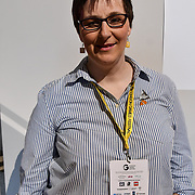 Speaker Natalie Griffuths, CEO - Identity Spark at ukie students at London Games Festival 2019: HUB at Somerset House at Strand, London, UK. on 2nd April 2019.