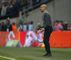 February 24, 2019 - London, England, United Kingdom - Manchester City manager Pep Guardiola .during during Carabao Cup Final between Chelsea and Manchester City at Wembley stadium , London, England on 24 Feb 2019. (Credit Image: © Action Foto Sport/NurPhoto via ZUMA Press)