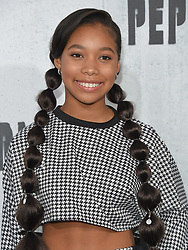 August 28, 2018 - Hollywood, California, U.S. - Kyla Drew arrives for the premiere of the film 'Peppermint' at the Regal Cinemas LA Live theater. (Credit Image: © Lisa O'Connor/ZUMA Wire)