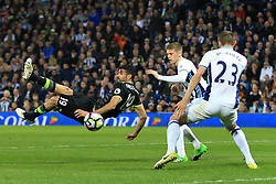 12th May 2017 - Premier League - West Bromwich Albion v Chelsea - Diego Costa of Chelsea shoots acrobatically - Photo: Simon Stacpoole / Offside.