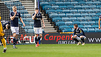 Football - 2018 / 2019 Emirates FA Cup - Sixth Round, Quarter Final : Millwall vs. Brighton<br /> <br /> Dejected Millwall players at The Den.<br /> <br /> COLORSPORT/DANIEL BEARHAM