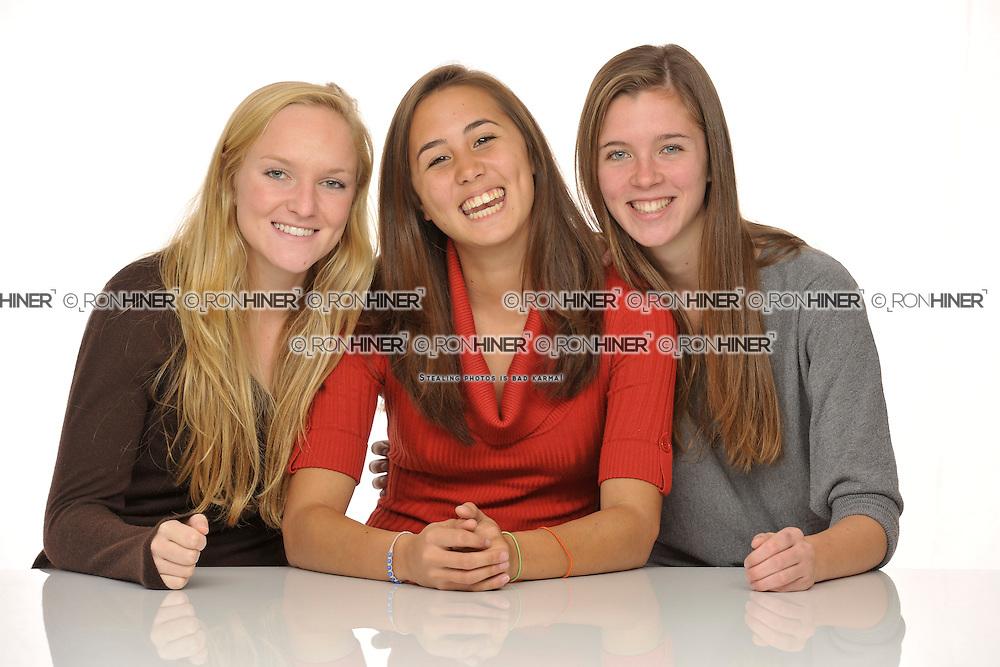 Erica Gendell (Captain), Jenn Hoets (Goalie, Captain), Elizabeth Driscoll (Captain)