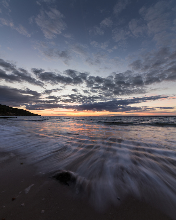 September Nights - Totland Bay Autumnal Sunset