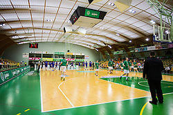 Arena Zlatorog before basketball match between KK Zlatorog and KK Helios Suns in 1st match of Nova KBM Slovenian Champions League Final 2015/16 on May 29, 2016  in Dvorana Zlatorog, Lasko, Slovenia.  Photo by Ziga Zupan / Sportida