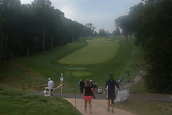September 7, 2018 - Newtown Square, Pennsylvania, United States - General view of the first hole during the second round of the 2018 BMW Championship. (Credit Image: © Debby Wong/ZUMA Wire)