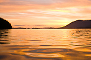 Sunset, Pacific Ocean, Sitka, Alaska