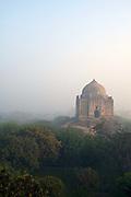 The tomb of Azim Khan, Lado Sarai, New Delhi, India.
