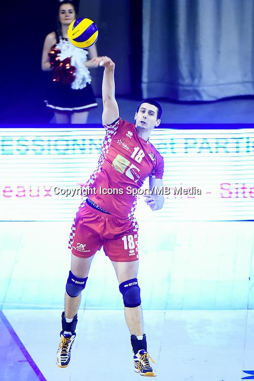 Matej PATAK  - 19.12.2014 - Beauvais / Saint Nazaire - 12e journee de Ligue A<br />Photo : Fred Porcu / Icon Sport