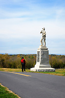 Pennsylvania Volunteer Infantry Memorial, Antietam National Battlefield, Sharpsburg, Maryland, USA.