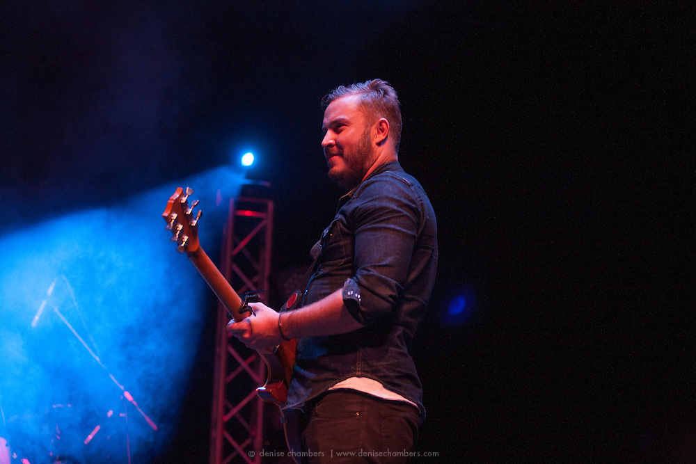 Andrew McKellar of Civil Twilight performs on March 24, 2014 at the Pikes Peak Center in Colorado Springs, Colorado