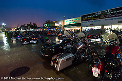 A terrible storm moved through Sturgis on the final Saturday evening of the annual Black Hills Motorcycle Rally. SD, USA. August 9, 2014.  Photography ©2014 Michael Lichter.